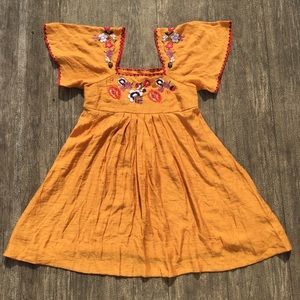 NWOT! MADEWELL Beautiful Sun Dress with Embroidery